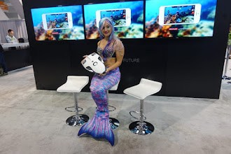 Photo: This fishing robot got a lot of press.  You send it out into the water and it swims around, looking for fish for you.  And it's in general a fun ROV for the consumer.