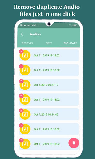Cleaner for whatsapp : Remove duplicate files ss3