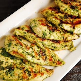 Cilantro Grilled Chicken Breasts.