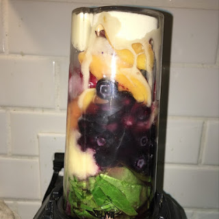 Spinach Berry Smoothie.