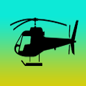 helicopter game - shoot em up icon