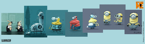 Despicable Me+art+minions+behind+scene