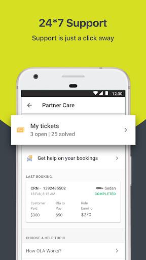 Ola Partner screenshot 4