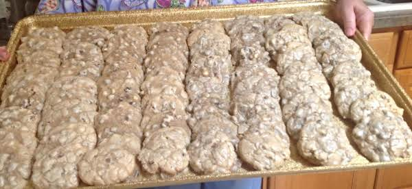 Party Size Three Chip Chocolate Pecan Cookies