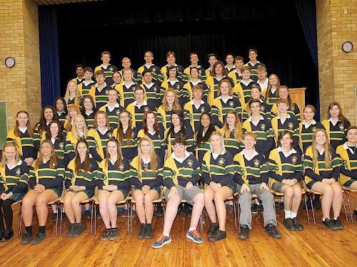 Farewell Narrabri High School Year 12, class of 2015