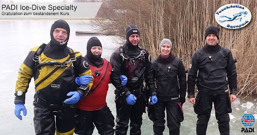Ice Dive Specialty - Februar 2017