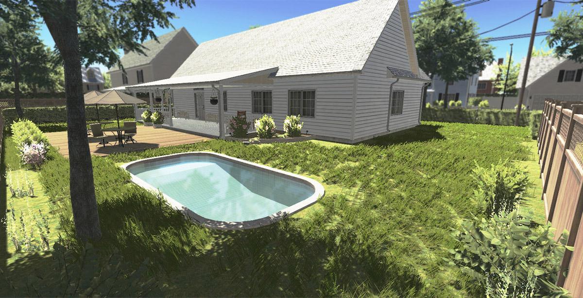 مصمم المنزل: الإصلاح والوجه