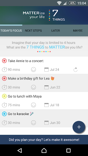 MATTERize - Simple To-Do List