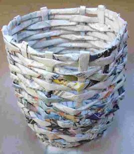 Newspaper Art Crafts Ideas Art Craft With Newspaper