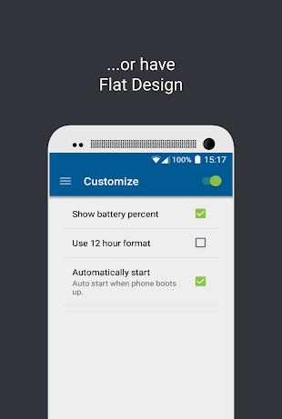 Material Status Bar Pro- screenshot thumbnail