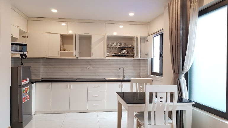 Cheap studio apartment with natural light in To Ngoc Van street, Tay Ho district for rent
