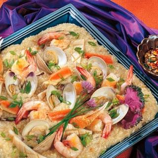 Taiwanese Seafood Paella