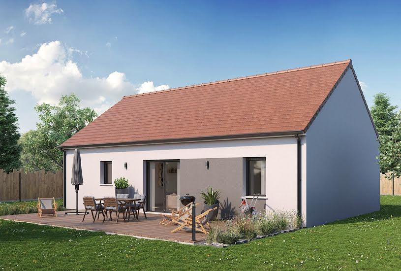 Vente Terrain + Maison - Terrain : 477m² - Maison : 69m² à Châteauneuf-sur-Loire (45110)