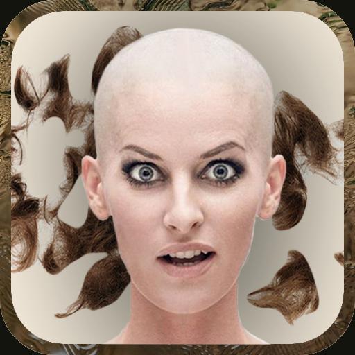 摄影のはげ頭髪型画像加工自撮り アプリ LOGO-記事Game