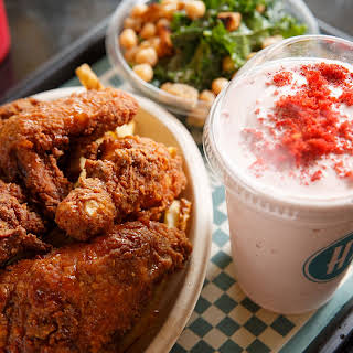 Extra-Crunchy Southern Fried Chicken.