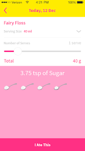 That Sugar App- screenshot thumbnail