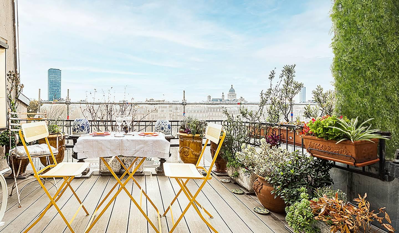 Appartement avec terrasse Paris 4ème