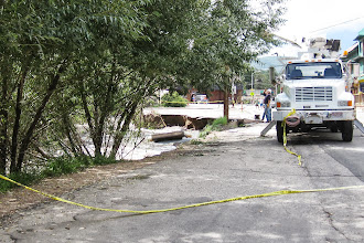 Photo: Main St. Washed away