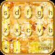 Luxury Shining Golden Keyboard Theme (app)
