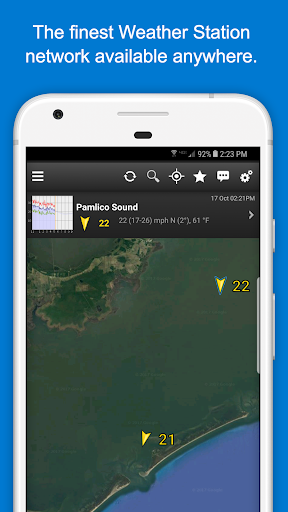 FishWeather: Wind Conditions & Forecasts 3.75 screenshots 2