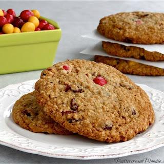 Cranberry Peanut M&M Oatmeal Cookies