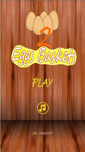 2 Eggs Baskets