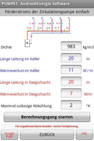 android Warmwasser Zirkulation Screenshot 6