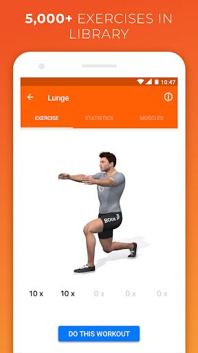 VirtuaGym Fitness Home and Gym  screenshot 1