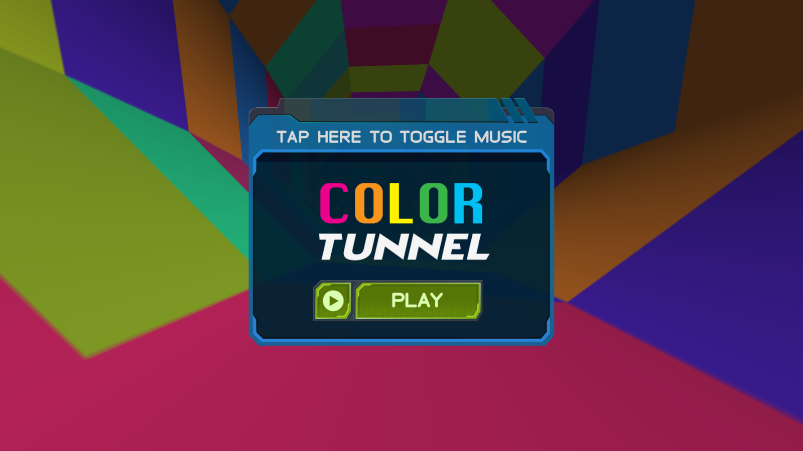 color tunnel screenshot - Picture Color