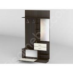Прихожая-27 мебель разработана и произведена Фабрикой Тиса мебель