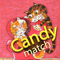 Cats Love Candy Match icon