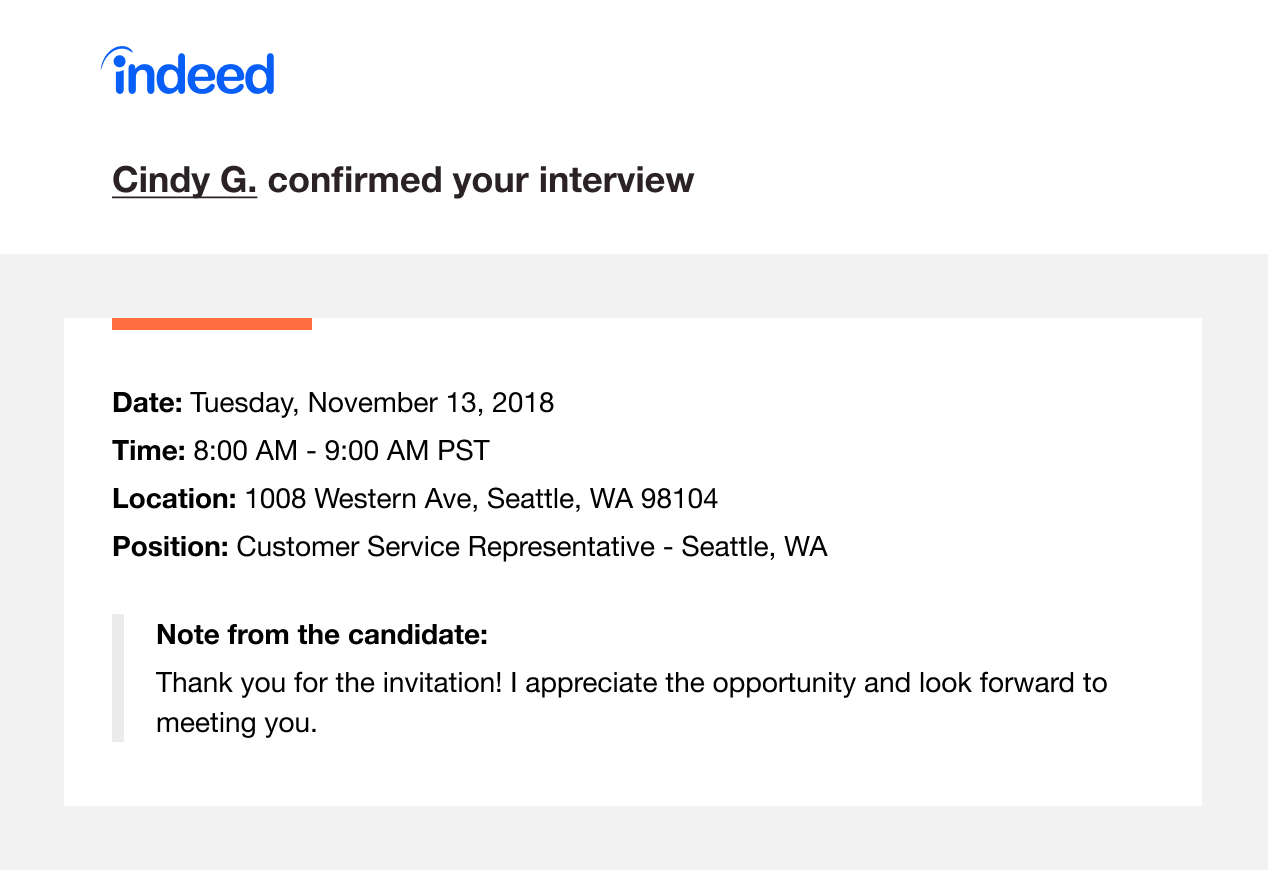 how to use the indeed scheduling tool