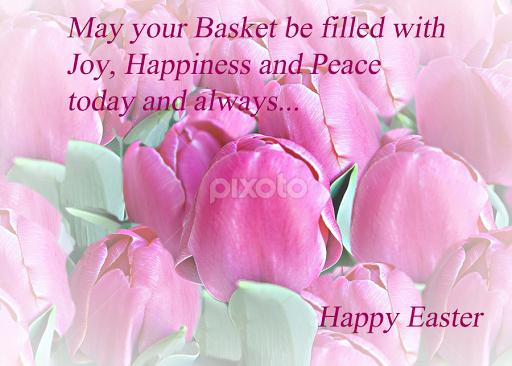 Happy Easter Card No 1 Quotes Sentences Typography Pixoto