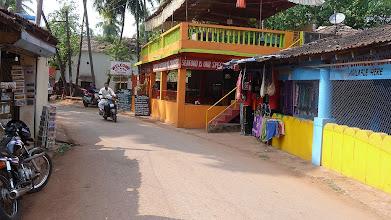 Photo: Main Street Sea Food Straight Ahead Chapora Goa India
