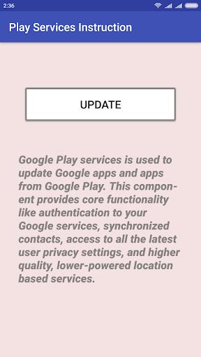 Play Services Update Installer 1.5 screenshots 2