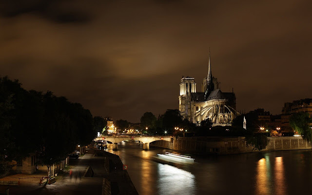 Notre-Dame De Paris - New Tab in HD