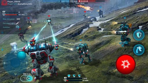 Robot Warfare: Mech Battle 3D PvP FPS apktram screenshots 11