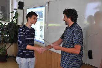 Photo: Certifikáty z angličtiny pro deváťáky (kmenová učebna 2. A, úterý 12. červen 2012).