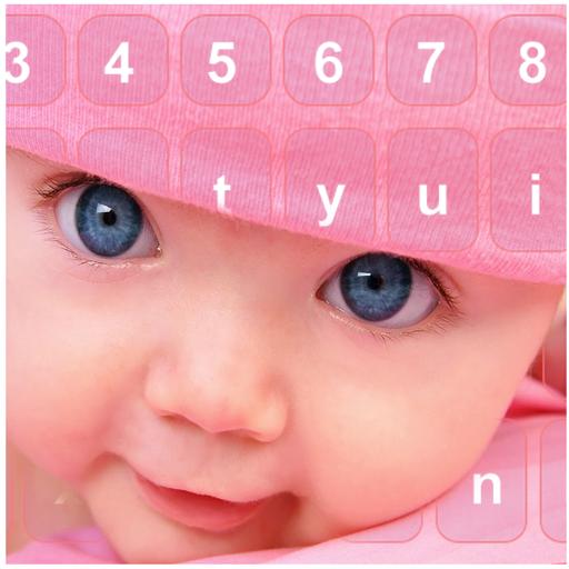 Cute Baby Photo Keyboard Free
