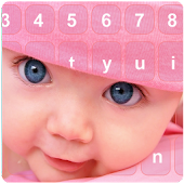 Cute Baby Photo Keyboard Free