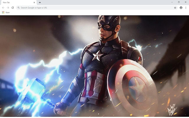 Captain America Wallpapers and New Tab - Chrome Web Store