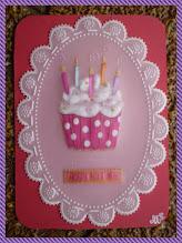 """Photo: """" cupcake """" envoyée à Chantal Tantynette ."""