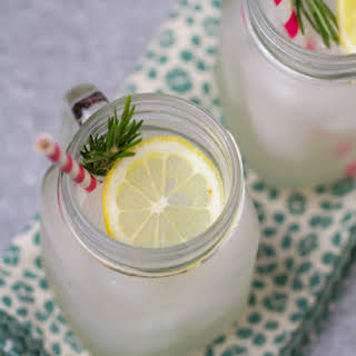 Sugar-free Rosemary Lemonade.