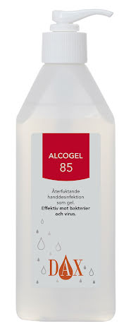 Alcogel DAX med pump 600 ml