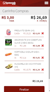 Supermercado na Rede screenshot 3