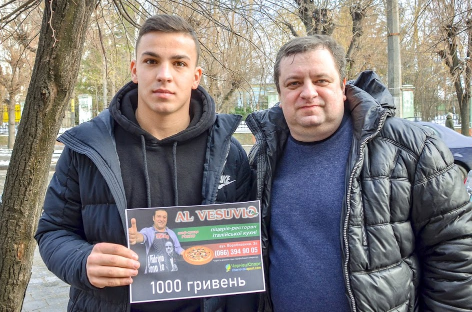 Даніел Раулюк, кращий буковинський футболіст-професіонал у 2019 році по версіЇ вболівальників