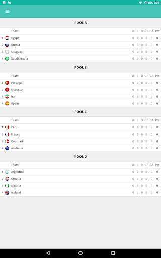 World Soccer Cup 2018 - Comments and Live Scores 1.5.2 8