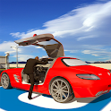 Smart Car Driving School 3D: Airport Parking Mania icon