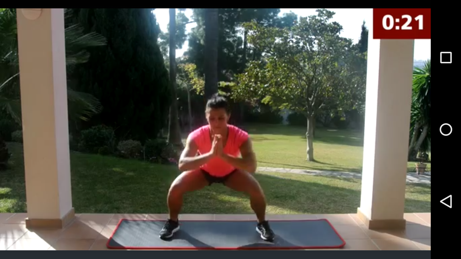 Sedere – Gambe – Squat- screenshot