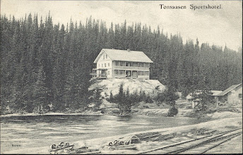 Photo: Tonsåsen Sportshotel i 1905